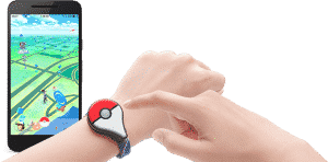 Pokémon GO Plus verbinden met bluetooth